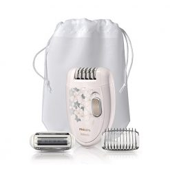 Philips Satinelle Epilator Champagne and Silver Pattern