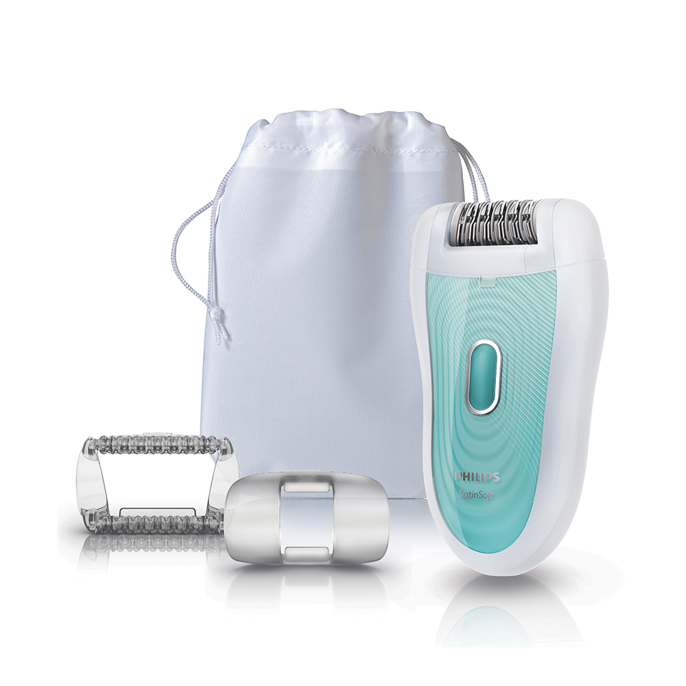 Wet & Dry SatiSoft Epilator