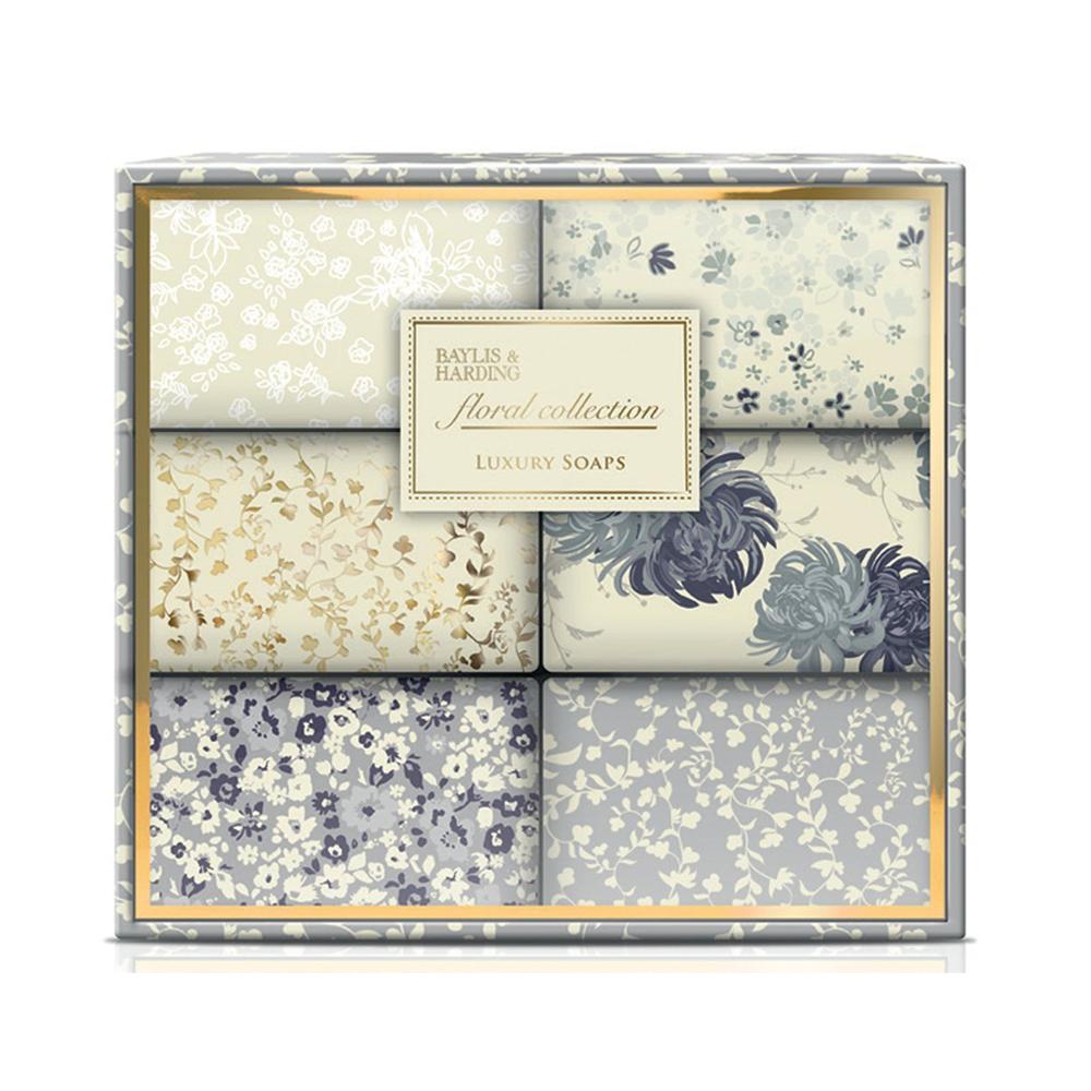 Floral Collection 6 Soap Set