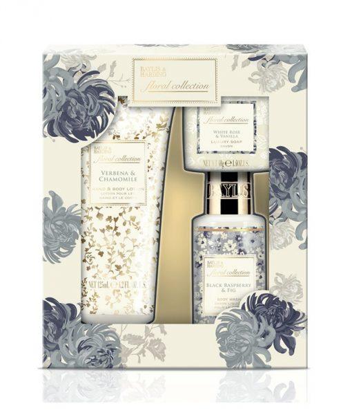Baylis & Harding Floral Collection Trio Set