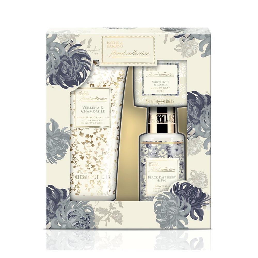 Floral Collection Trio Set