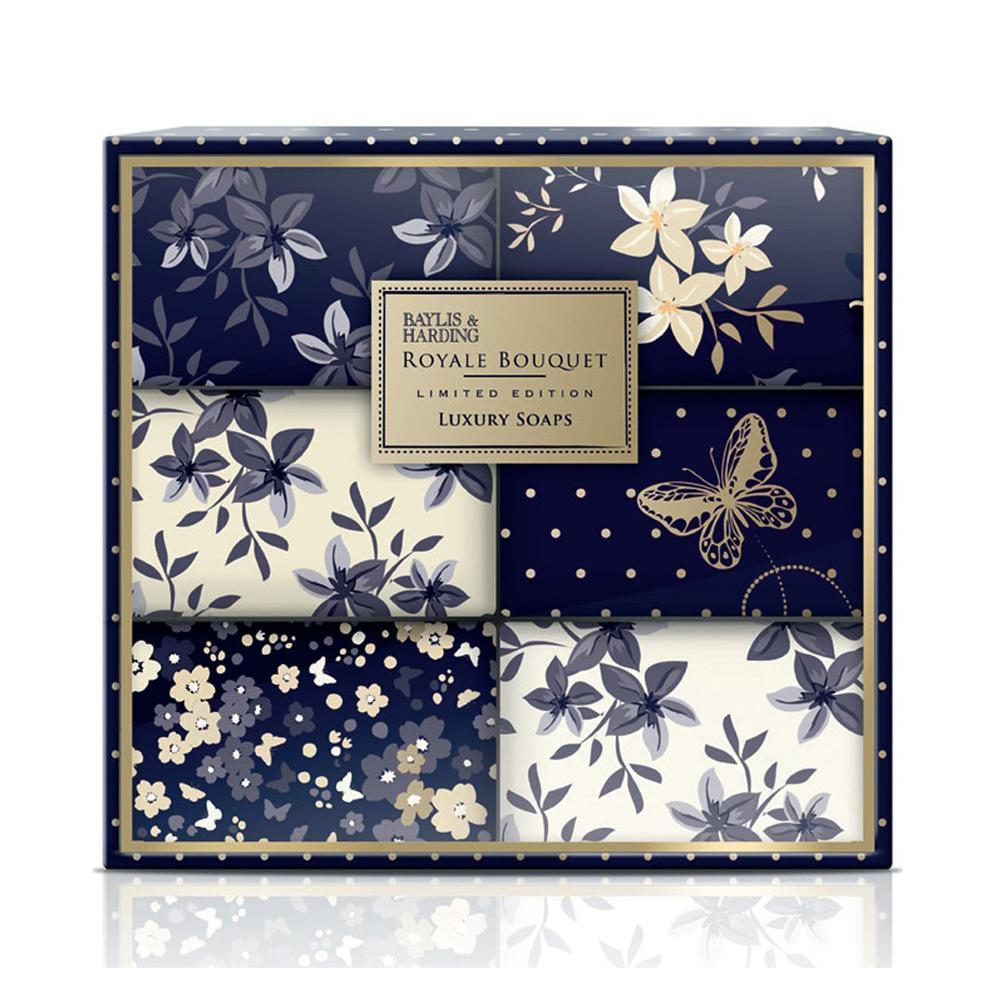 Royale Bouquet 6 Soap Set