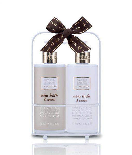 Baylis & Harding La Maison Creme Brulee & Cocoa 2 Bottle Set