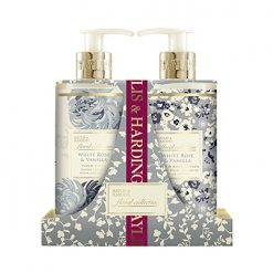 Baylis & Harding Floral Collection White Rose & Vanilla 2 Bottle Set