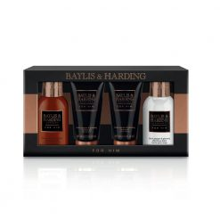 Baylis & Harding Mens Black Pepper & Ginseng 4 Piece Box Set