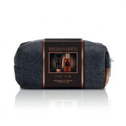 Baylis & Harding Mens Black Pepper & Ginseng Small Wash Bag Set