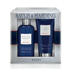 Baylis & Harding Mens Sport Citrus Lime & Mint 2 Piece Set