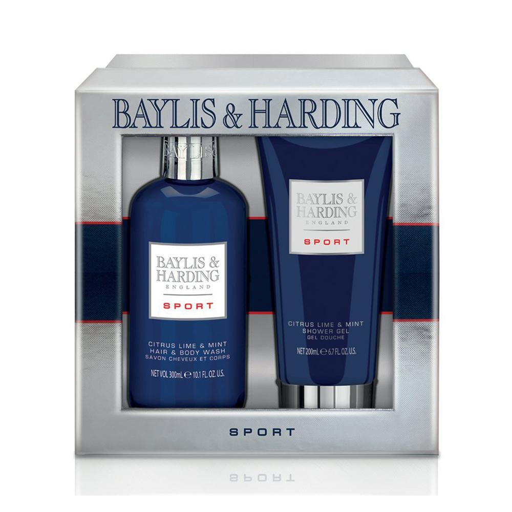 Baylis & Harding Mens Sport Citrus Lime & Mint 2 Piece Set