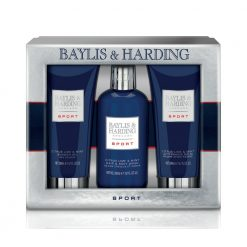 Baylis & Harding Mens Sport Citrus Lime & Mint 3 Piece Set