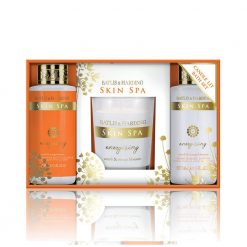 Baylis & Harding Skin Spa Energise 3 Piece Set with Candle