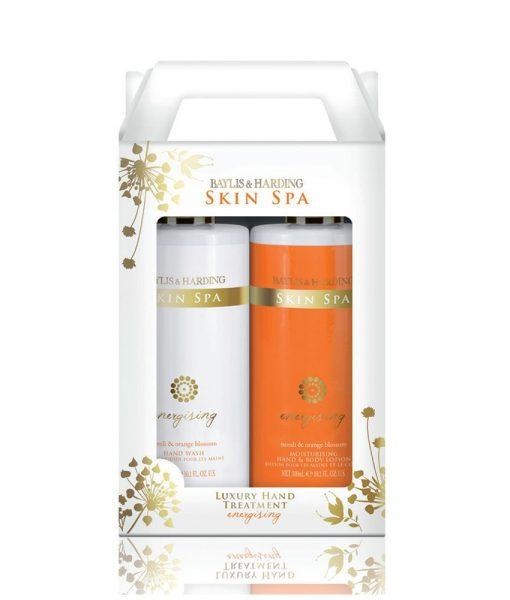 Skin Spa Energising Neroli & Orange Blossom 2 Bottle Set