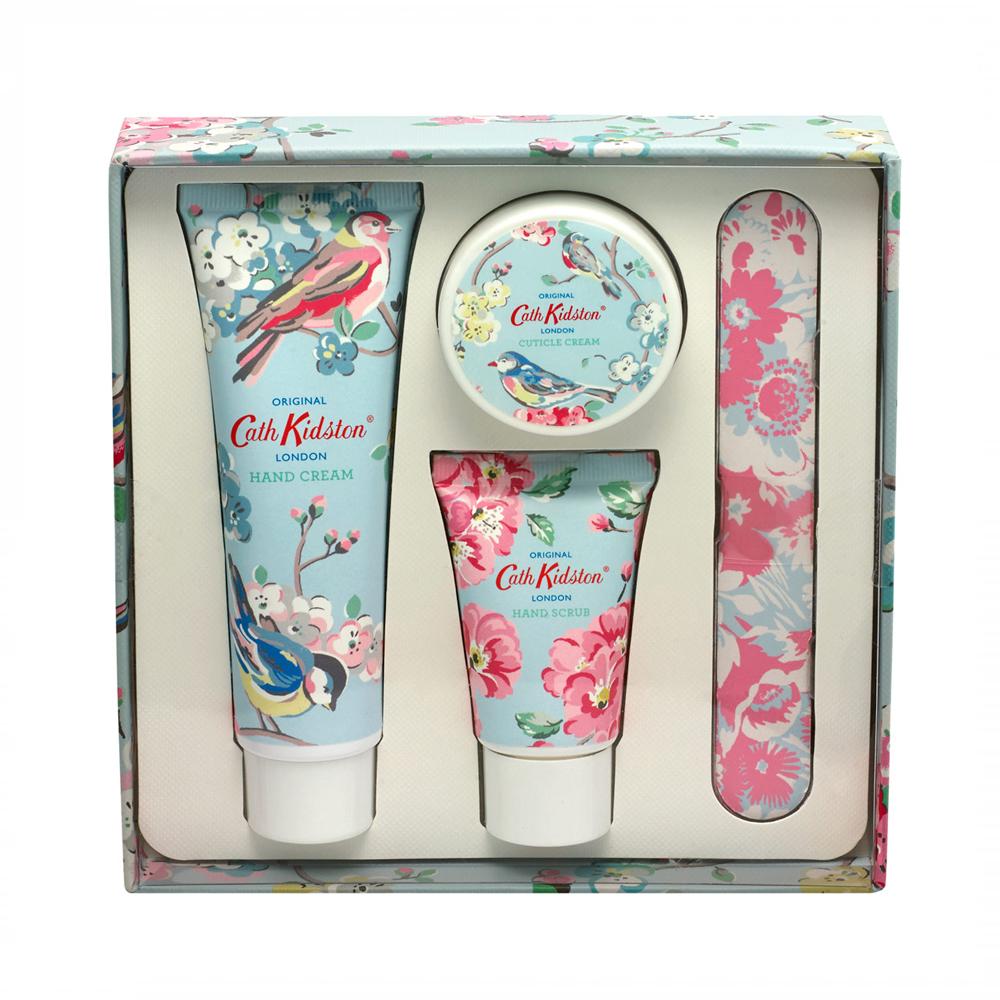 Cath Kidston Blossom Birds Apple Blossom & Elderflower Absolute Manicure Set