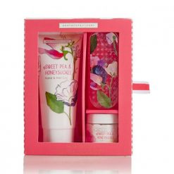 Heathcote & Ivory Sweet Pea & Honeysuckle Manicure Set