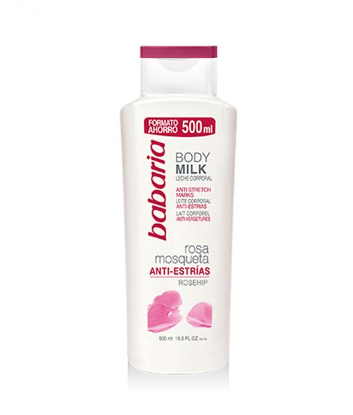 Babaria Rosehip Oil Body Milk