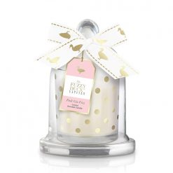 Baylis & Harding Fuzzy Duck Pink Gin Fizz Single Wick Candle with Cloche