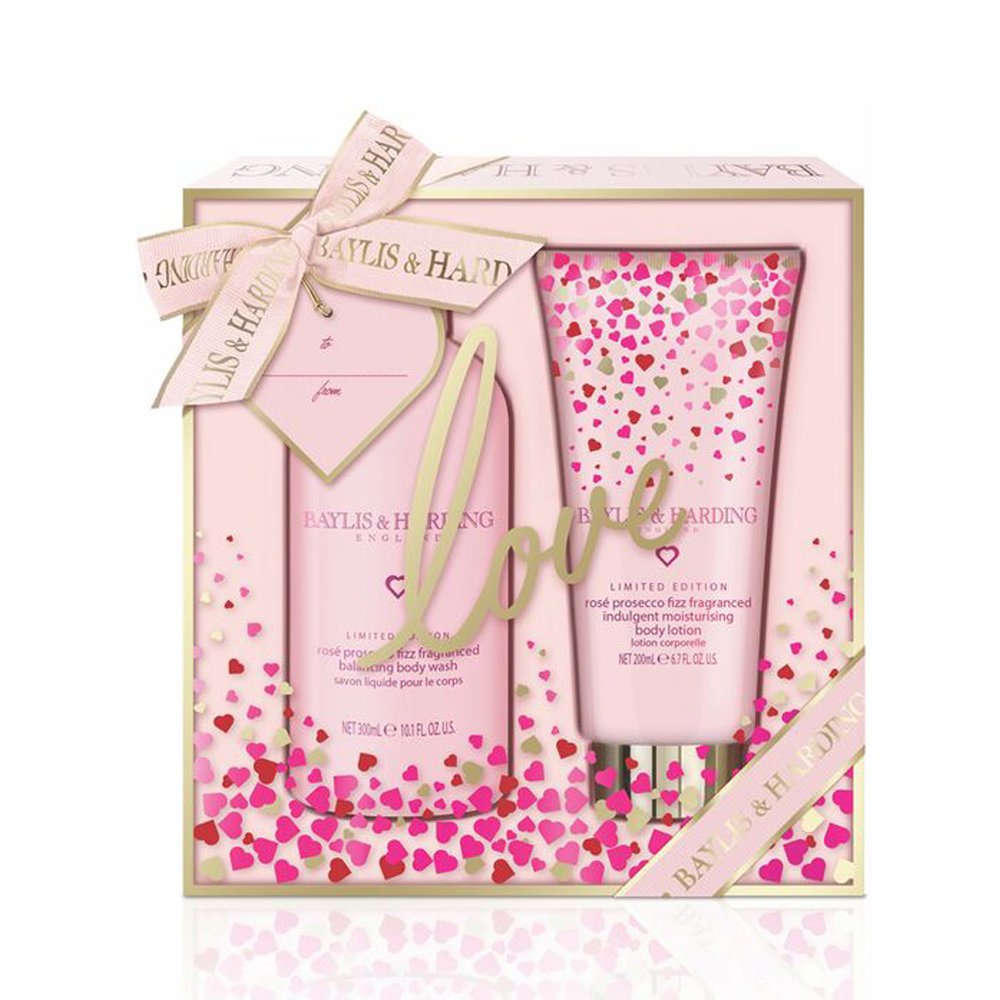 Rose Prosecco Fizz 2 Piece Set