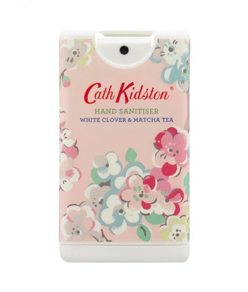 Cath Kidston Blossom Birds Print White Clover & Matcha Tea Scented Hand Sanitizer