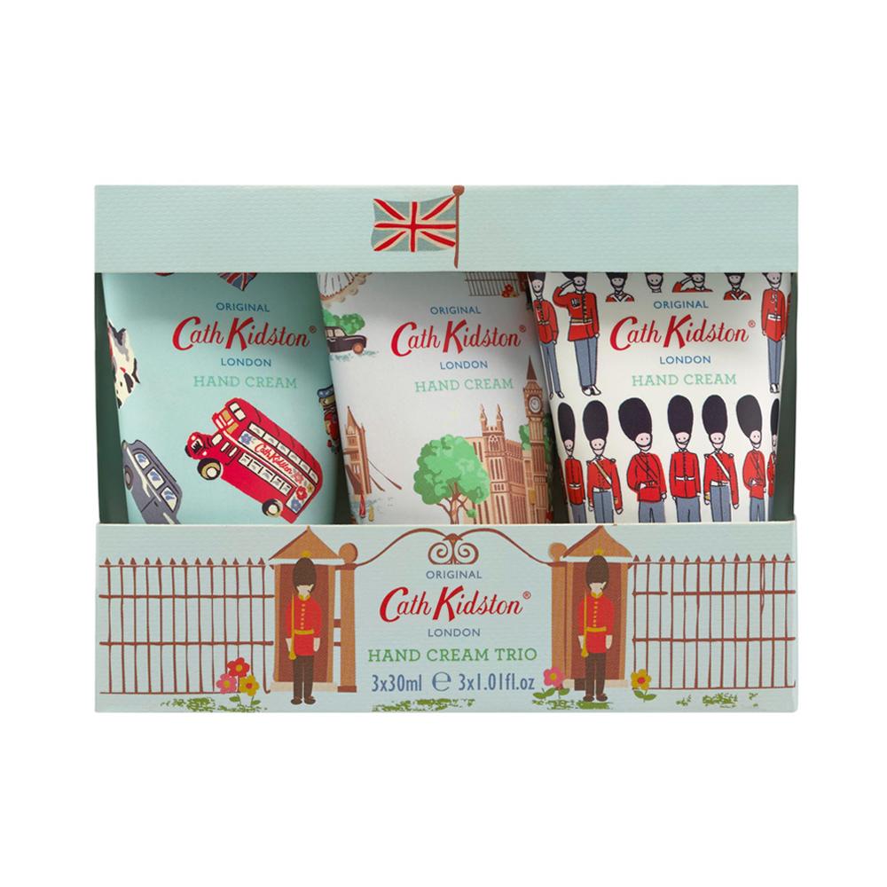 Cath Kidston London Print 3x30ml Hand Creams