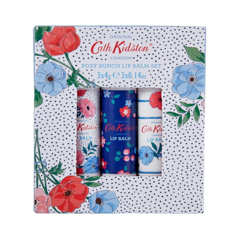 Cath Kidston Posy Bunch 3x4g Lip Balm Set