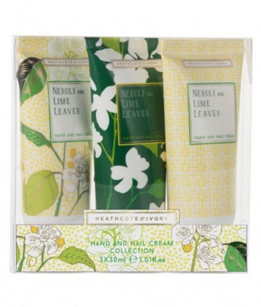 Heathcote & Ivory Neroli & Lime Leave 3x30ml Hand Creams