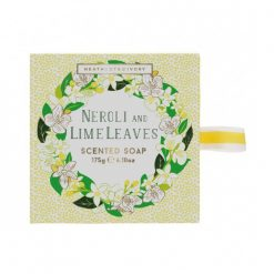 Heathcote & Ivory Neroli & Lime Leaves Gift Soap