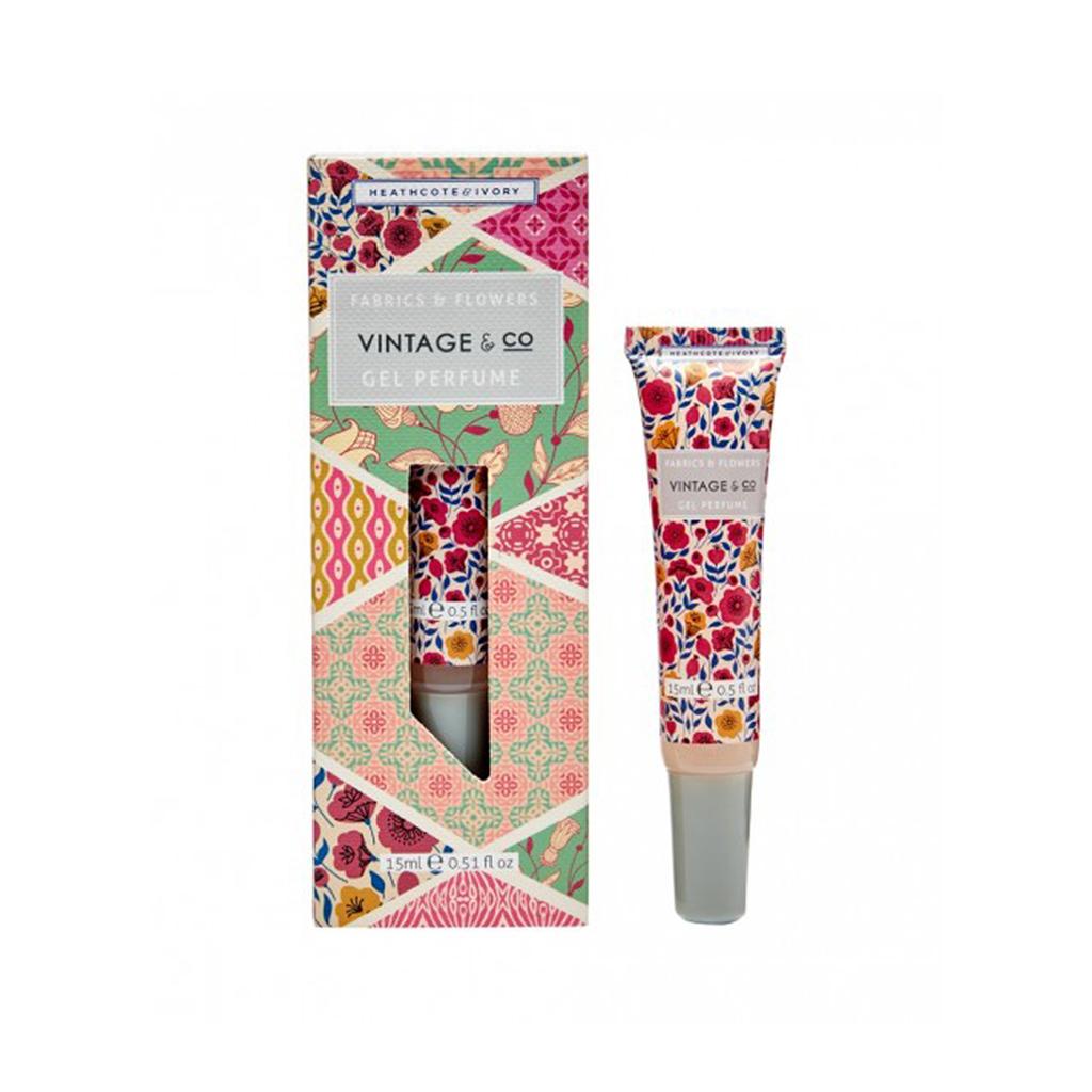 Vintage & Co. Fabrics & Flowers Gel Perfume