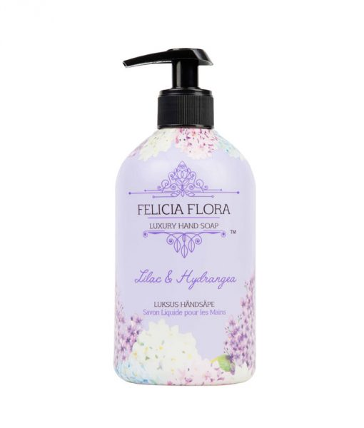 Elle Basic Felicia Flora Lilac and Hydrangea Hand Wash