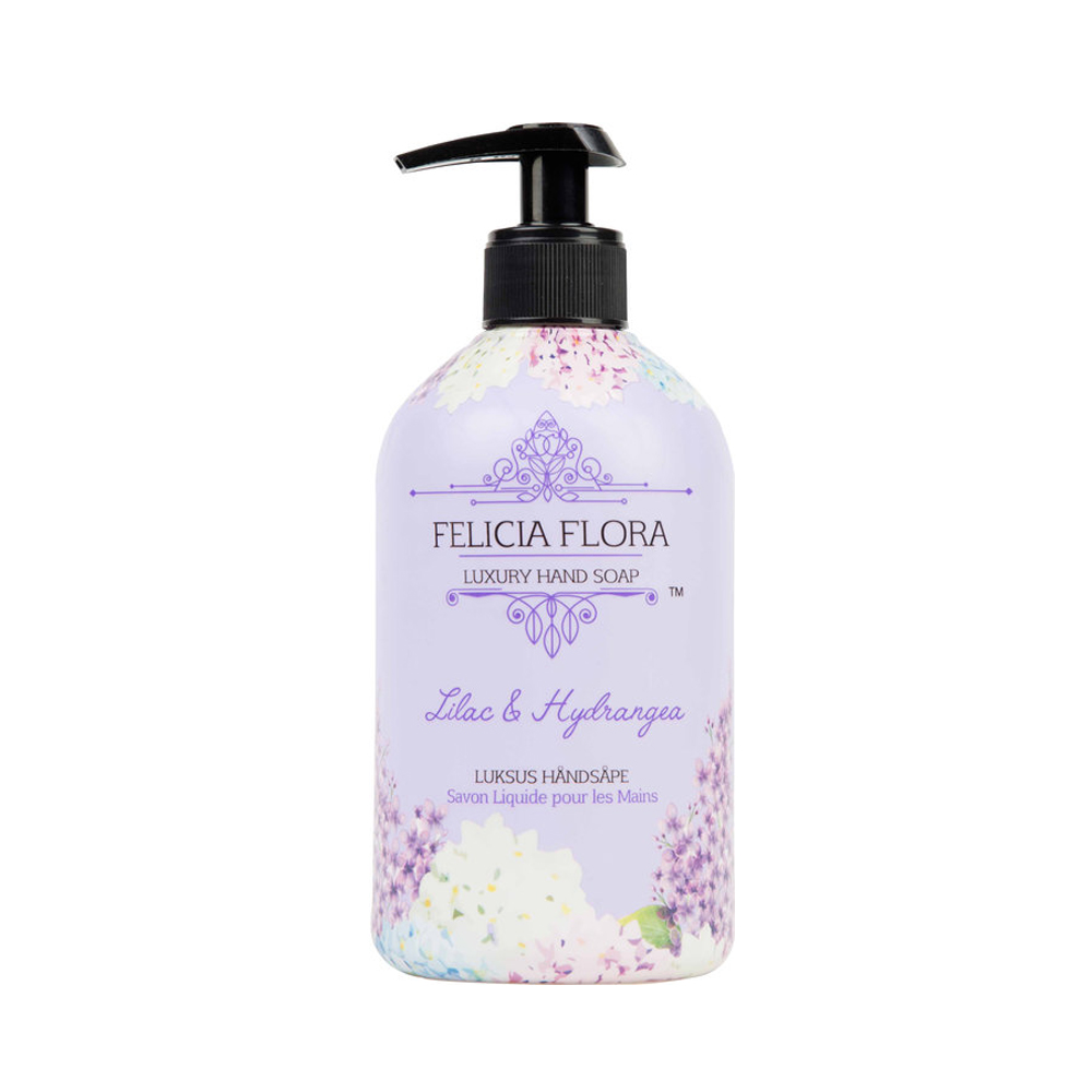 Felicia Flora Lilac and Hydrangea Hand Wash