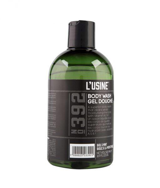 Lusine Basil Mint Body Wash
