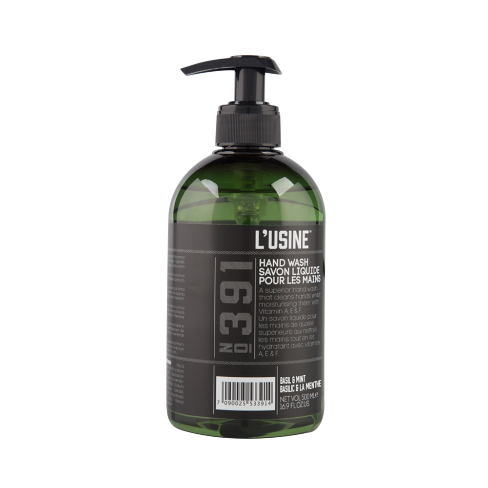 Lusine Basil Mint Hand Wash