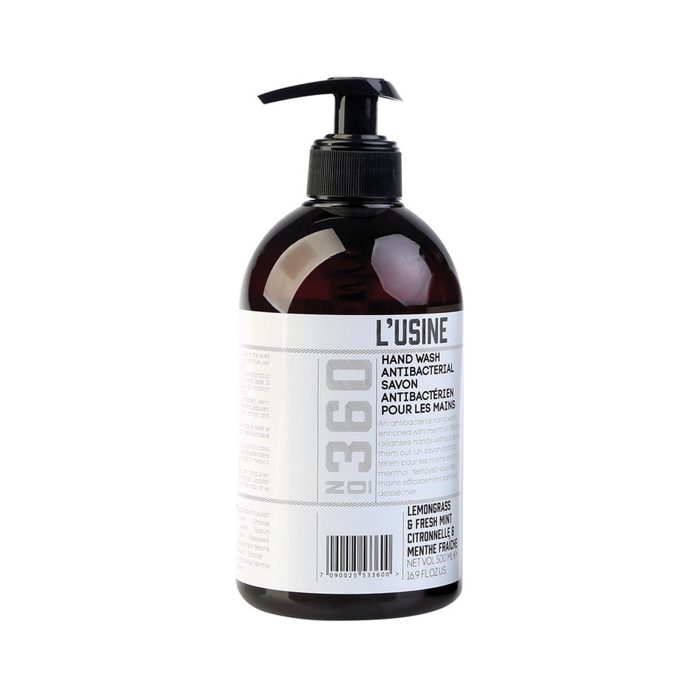 Lusine Lemongrass & Fresh Mint Anti-Bacterial Hand Wash
