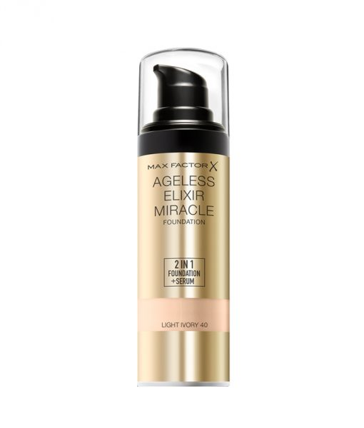 Max Factor Ageless Elixir Miracle Foundation – Light Ivory