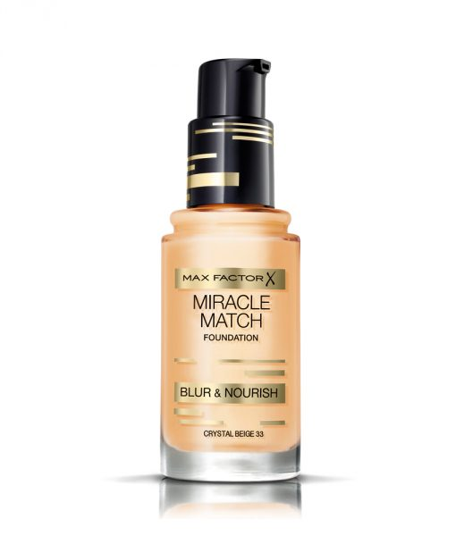 Max Factor Miracle Match Foundation – Crystal Beige