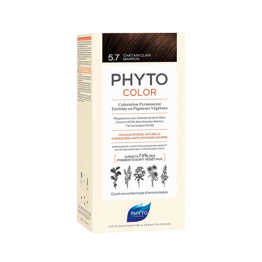 Phytocolor 5. 7 Light Chestnut Brown