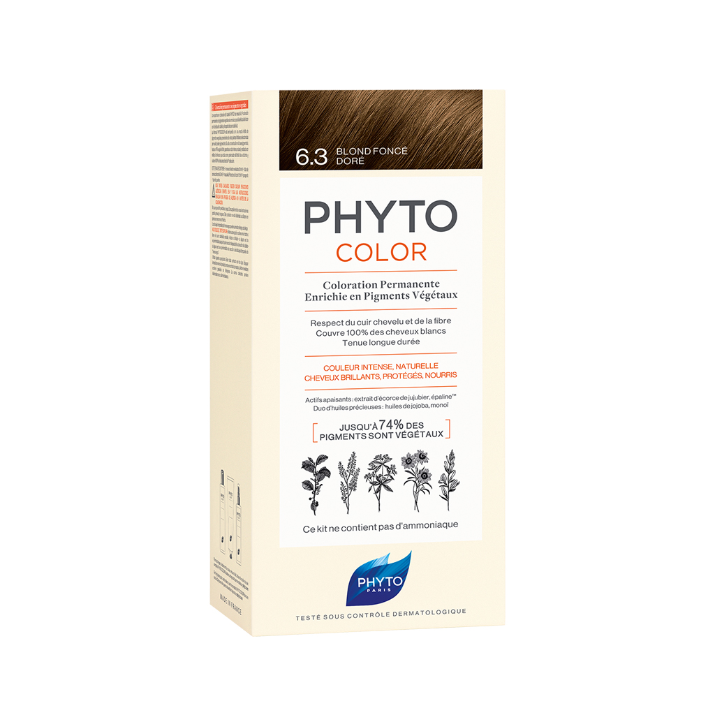 Phytocolor 6.3 Dark Golden Blond