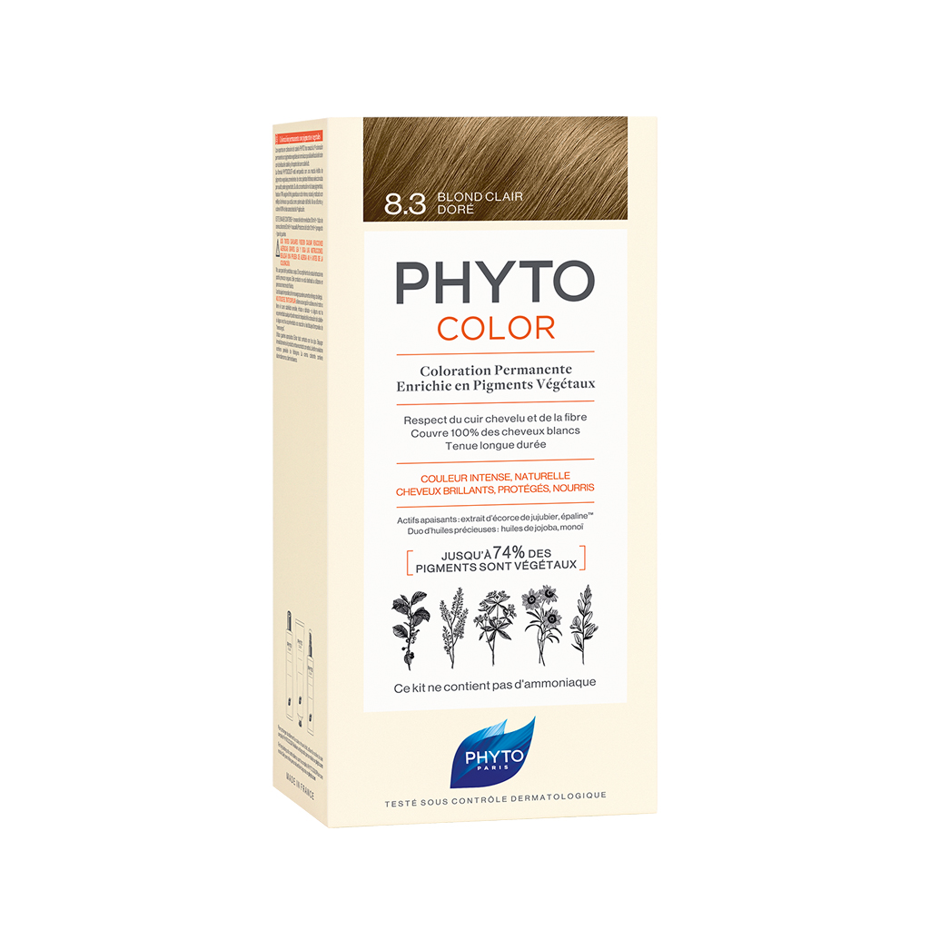Phytocolor 8.3 Light Golden Blond