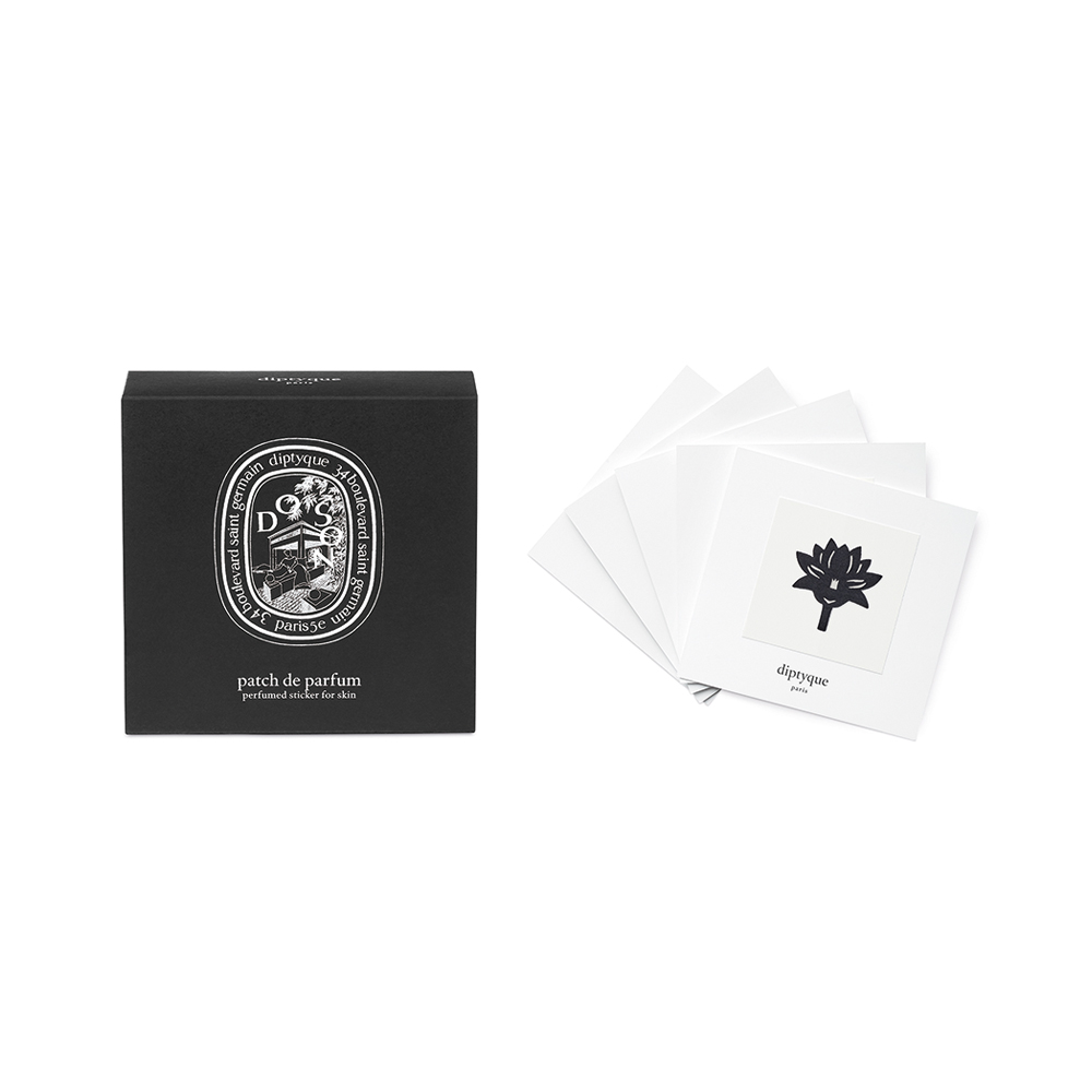 Diptyque Do Son Box of 5 Perfumed Stickers for Skin