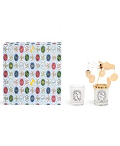 Diptyque Set of Carousel + Baies 70g + Roses 70g