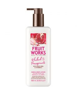 Fruitworks Rhubarb & Pomegranate 500ml Hand & Body Lotion