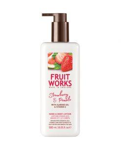 Fruitworks Strawberry & Pomelo 500ml Hand & Body Lotion