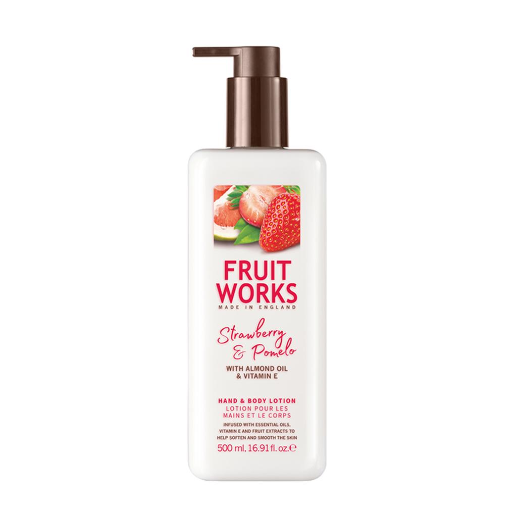 Strawberry & Pomelo 500ml Hand & Body Lotion