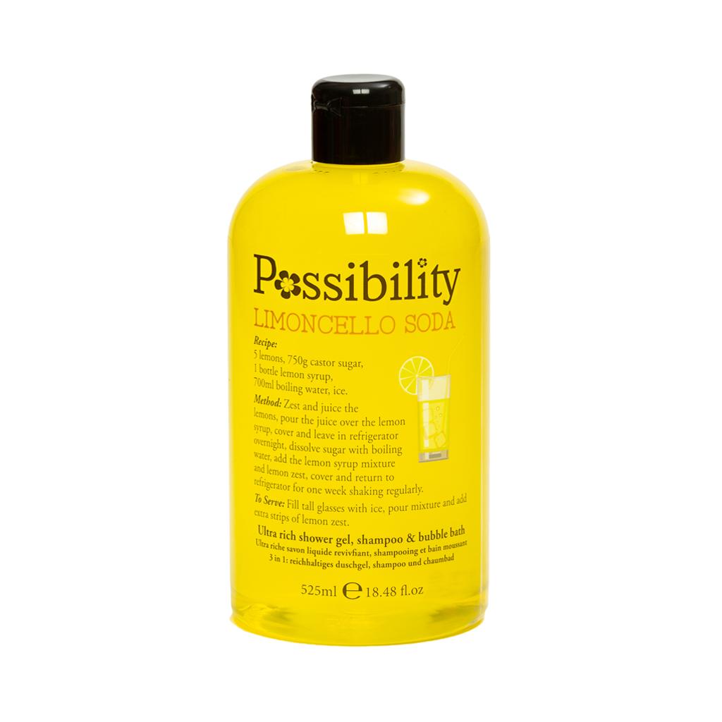 Possibility 3 in 1 Limencello Soda