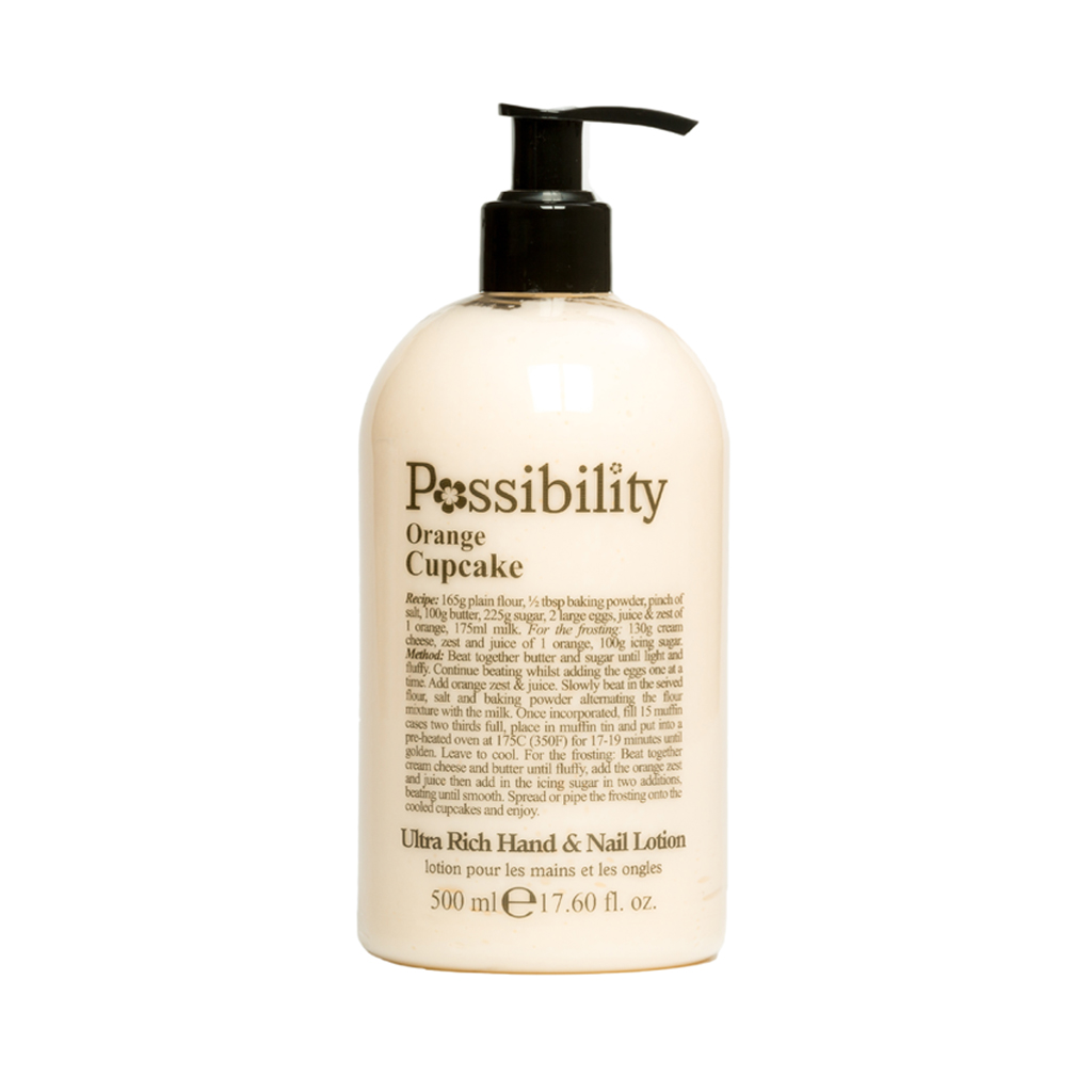 Possibility Orange Cupcake Hand Lotion