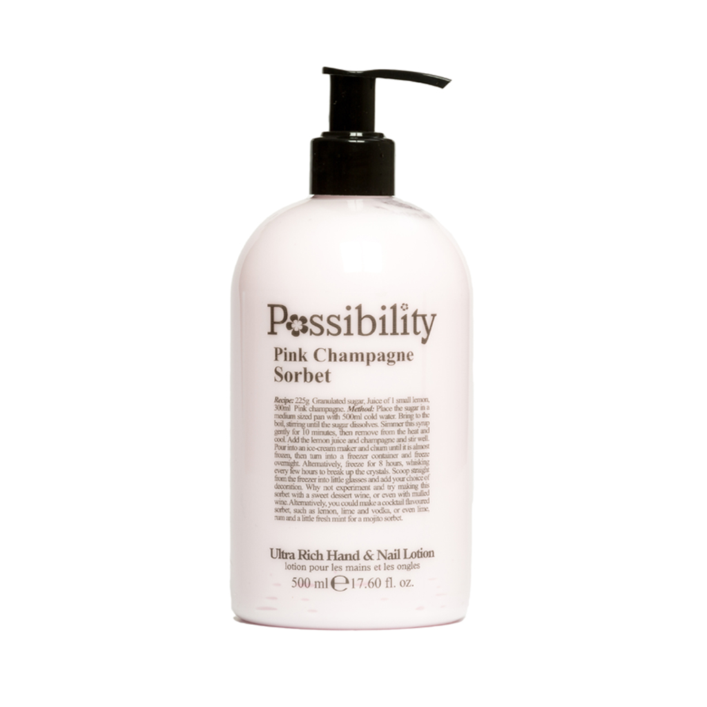 Possibility Pink Champagne Sorbet Hand Lotion