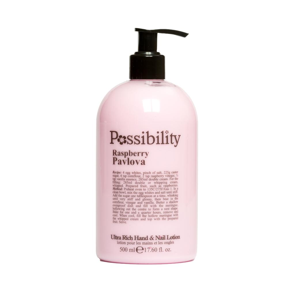 Possibility Raspberry Parlova Hand Lotion