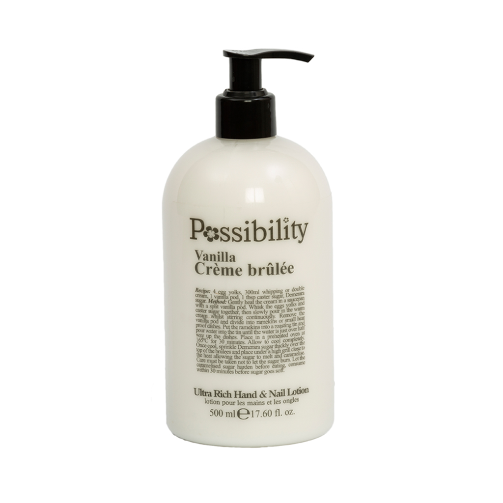 Possibility Vanilla Crème Brulee Hand Lotion