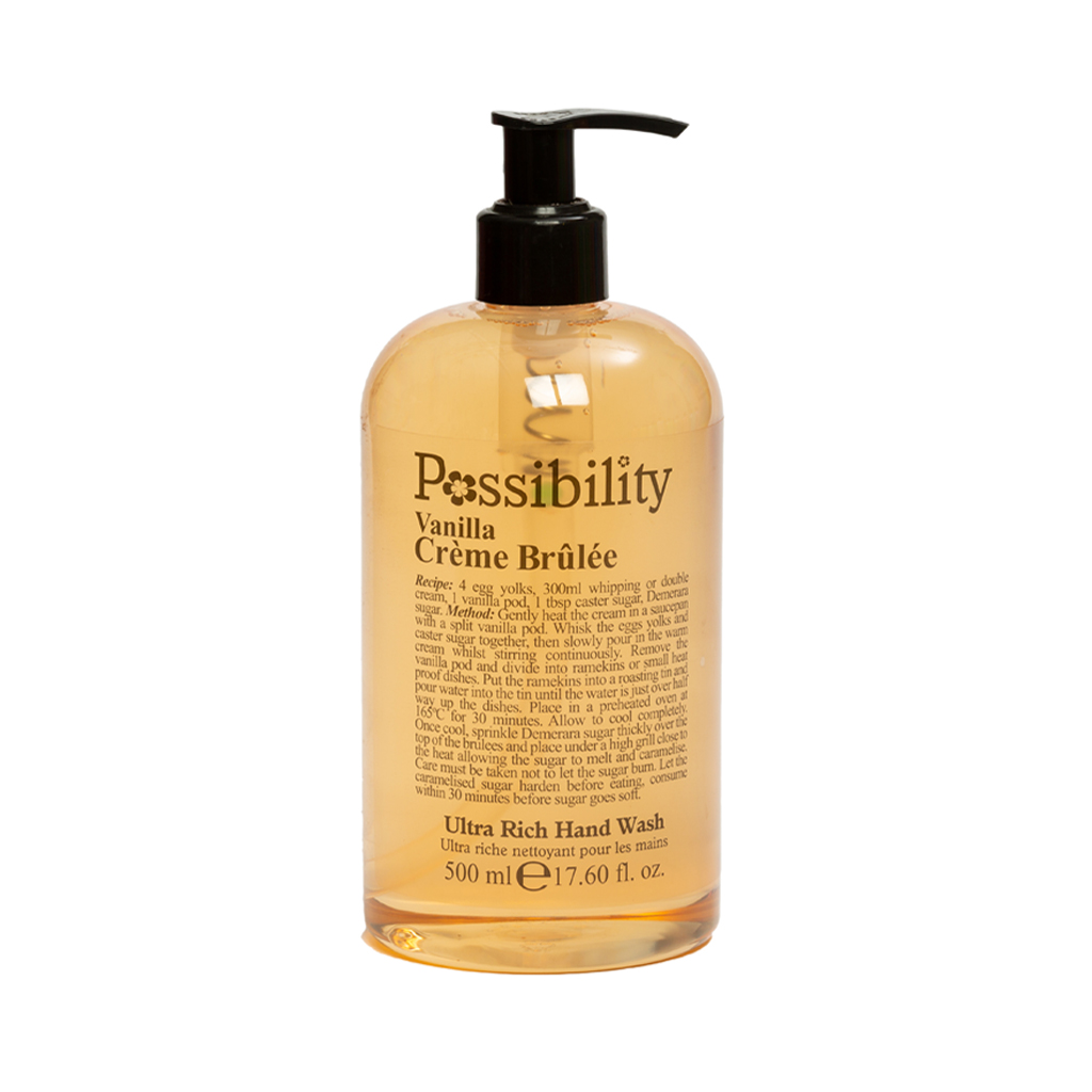 Possibility Vanilla Crème Brulee Hand Wash