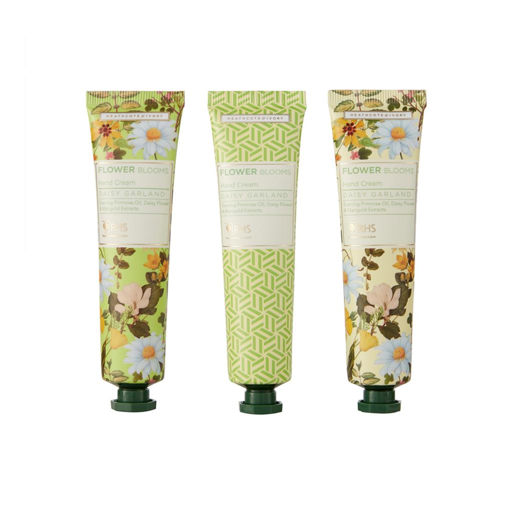 Heathcote & Ivory RHS Daisy Garland Hand Cream