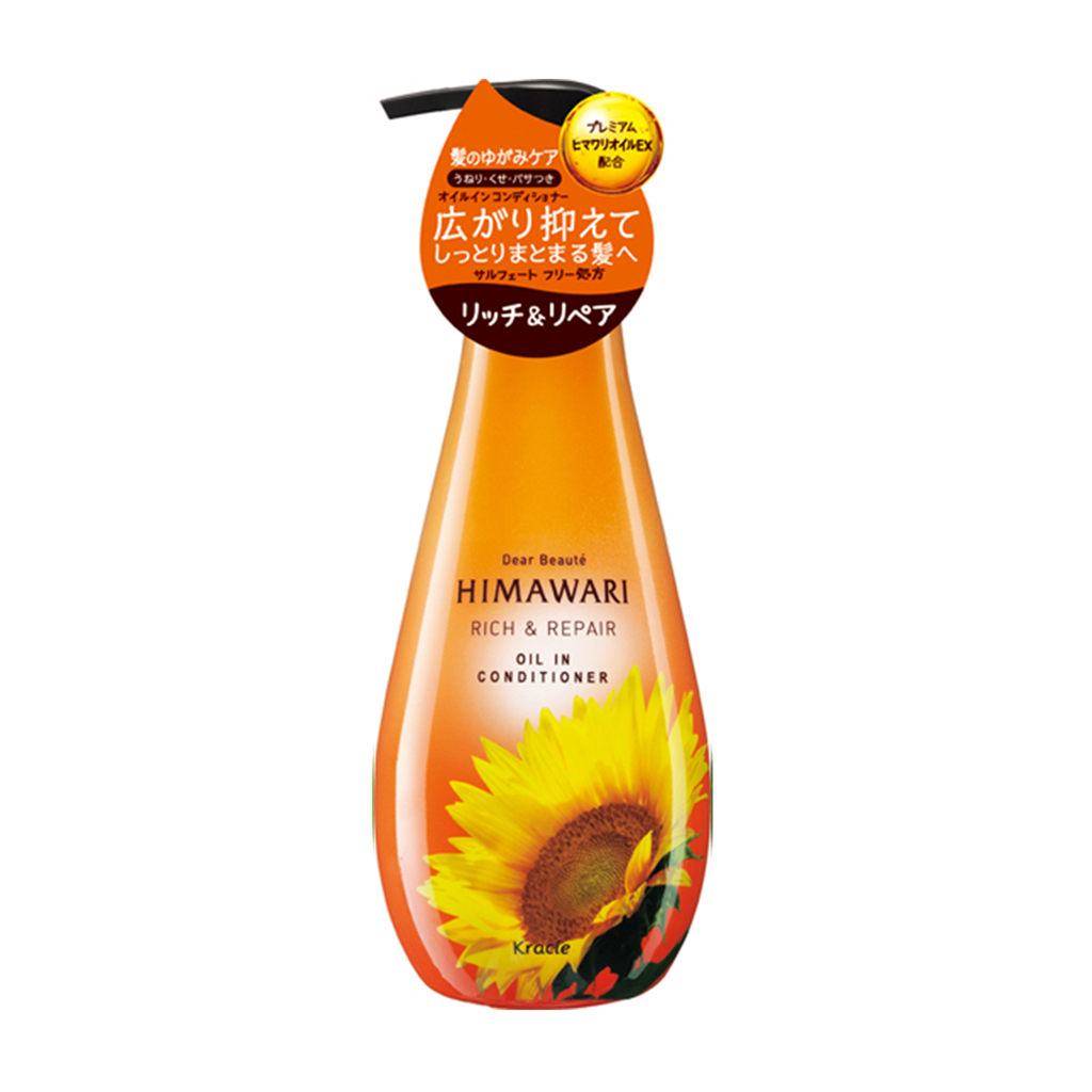 Kracie Himawari Dear Beaute Rich and Repair Oil in Conditioner