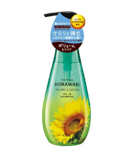Himawari Dear Beaute Volume and Repair Oil in Shampoo